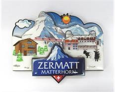 """Magnet 3-lagig, mit Epoxy Schicht, """"Zermatt"""""""
