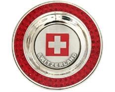 Magnet CL red Magnet Switzerland mit Fahne