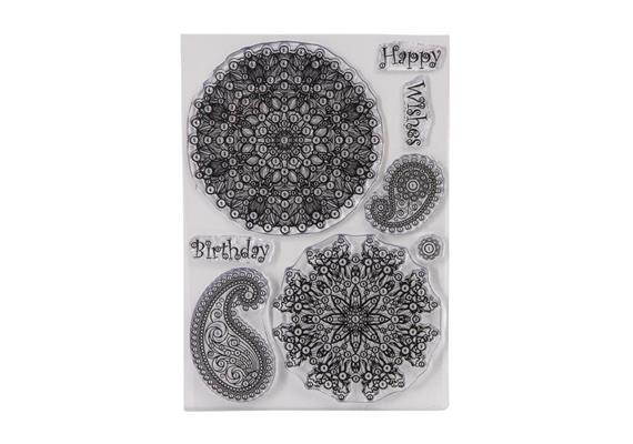 Mandala Magic, Crystal Art A5 Stamp