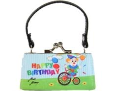 MiniBags, Happy Birthday, Clown auf Fahrrad