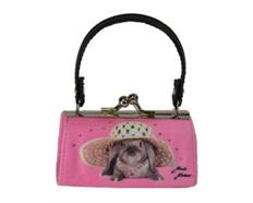 MiniBags Hase Pink Schlappohr
