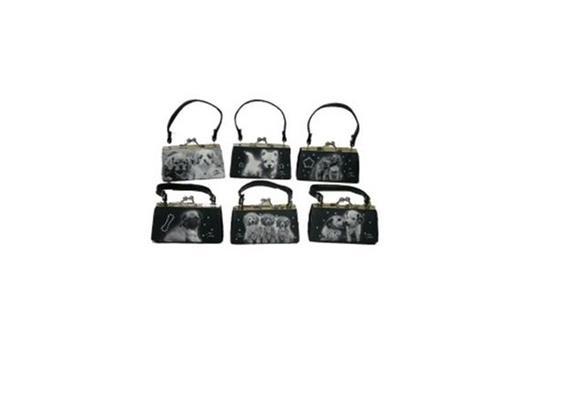 MiniBags Hunde Serie schwarz / weiss
