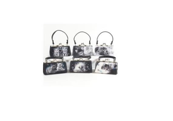 MiniBags Katzen Serie schwarz / weiss