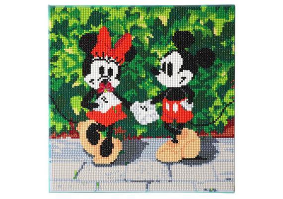 Minnie and Mickey, 30x30cm Crystal Art Kit