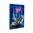 Moonlight Swans, 40x50cm LED Crystal Art Kit | Bild 4