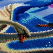 Moonlight Swans, 40x50cm LED Crystal Art Kit | Bild 2