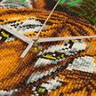 Mother Tiger & Cub, Crystal Art Clock   Bild 4
