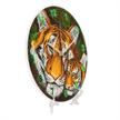 Mother Tiger & Cub, Crystal Art Clock   Bild 2