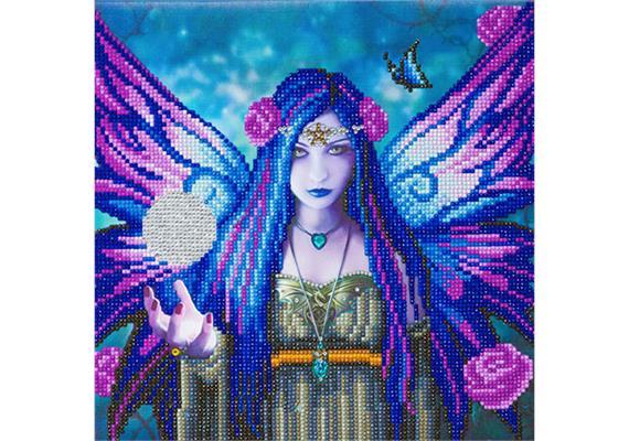 Mystic Aura, 30x30cm Crystal Art Kit ANNE STOKES