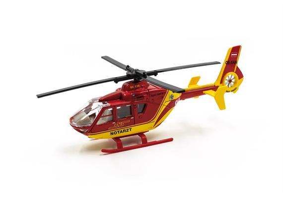 NOTARZT Hubschrauber