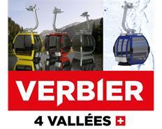 Omega IV Umlaufkabine rot Verbier Logo