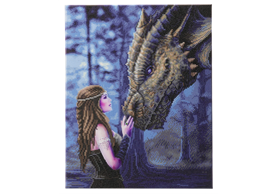Once Upon A Time: Anne Stokes, 40x50cm Crystal Art Kit