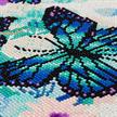 Orchids & Butterflies, 30x30cm Crystal Art Kit | Bild 2