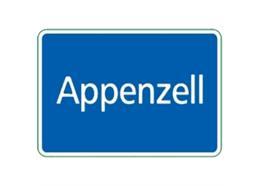Ortstafel Appenzell