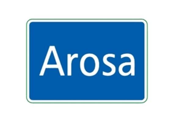 Ortstafel Arosa