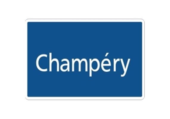 Ortstafel Champéry