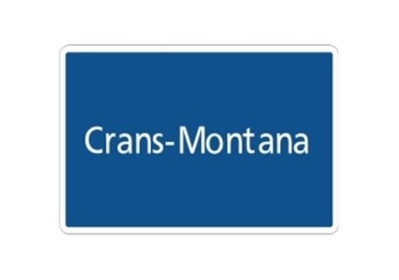 Ortstafel Crans-Montana