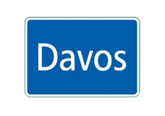 Ortstafel Davos