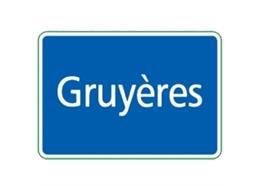 Ortstafel Gruyères