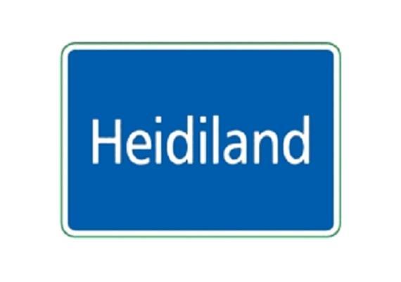Ortstafel Heidiland