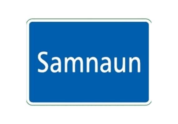 Ortstafel Samnaun