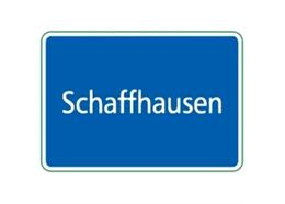 Ortstafel Schaffhausen