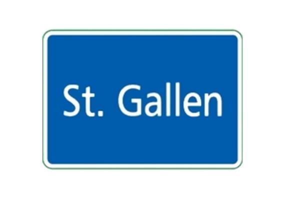 Ortstafel St. Gallen