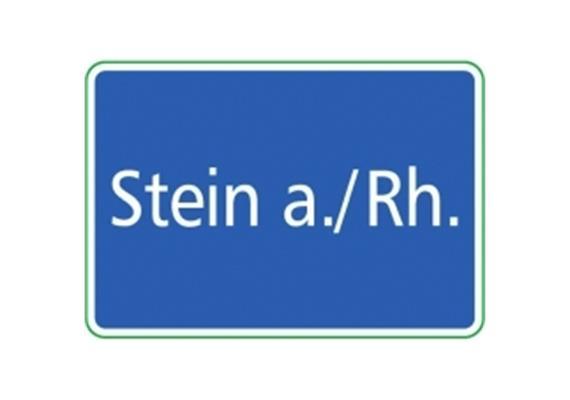 Ortstafel Stein a./Rhein