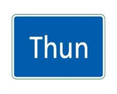 Ortstafel Thun