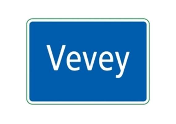 Ortstafel Vevey