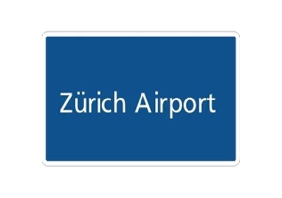 Ortstafel Zürich Airport