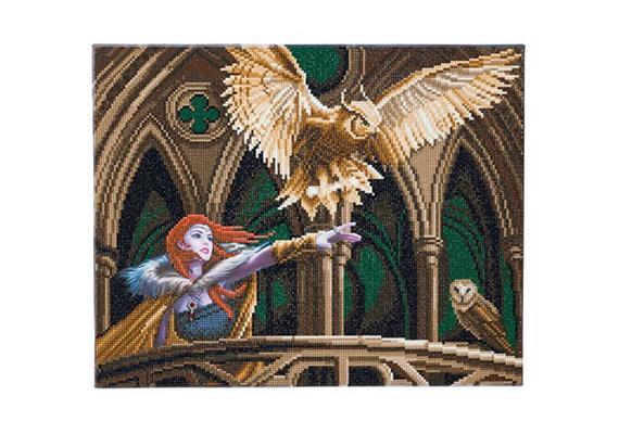 Owl Messenger, 40x50cm Crystal Art Kit ANNE STOKES