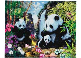 Panda-Tal, 40x50cm Crystal Art Kit