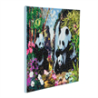 Panda Valley, 40x50cm Crystal Art Kit | Bild 2