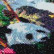 Panda Valley, 40x50cm Crystal Art Kit | Bild 3