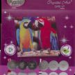 Parrot Friends, 18x18cm Crystal Art Card   Bild 4