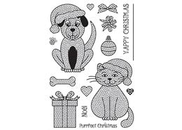 Pets, Crystal Art A5 Stamp