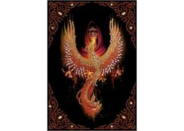 Phoenix Rising, Crystal Art Notebook ANNE STOKES