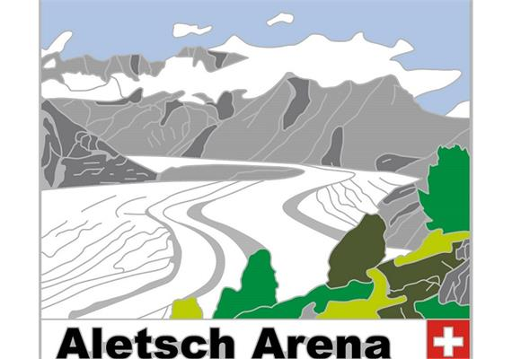 Pin Aletsch Arena