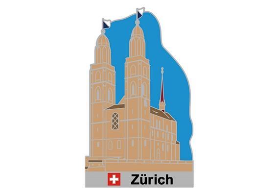 Pin Grossmünster Zürich