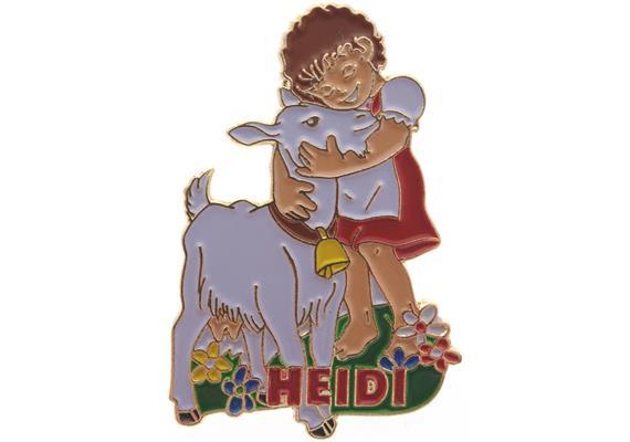 Pin Heidi mit Geiss