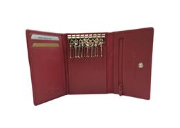 Portemonnaie Schlüsselbörse rot mit CH-Kreuz (882.803)