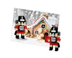 Postcard Nutcracker