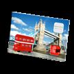 Postcard Red tour bus | Bild 3