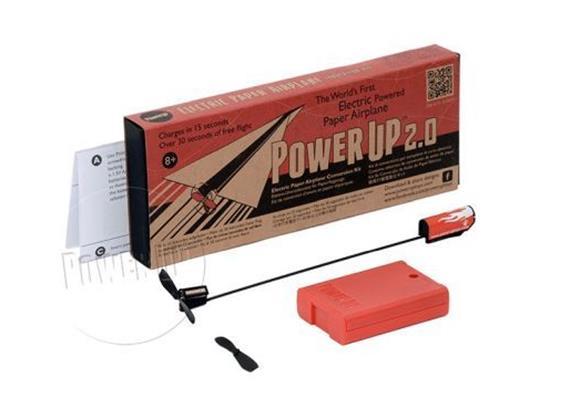 PowerUp 2.0 Kit für elektr. Papierflieger (ohne Batterien)