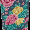 Pretty Flowers, 11x22cm Crystal Art Card   Bild 2