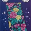 Pretty Flowers, 11x22cm Crystal Art Card   Bild 4