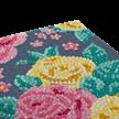 Pretty Flowers, 11x22cm Crystal Art Card   Bild 3