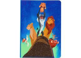 """""""Pride Rock"""" aus König der Löwen Disney, Crystal Art Notizbuch"""