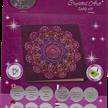 Purple Mandala, 18x18cm Crystal Art Card | Bild 4